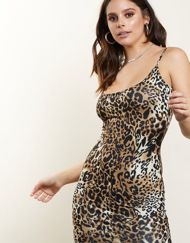 Simply Leopard Bodycon Dress