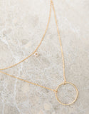 Circle Around Me Necklace