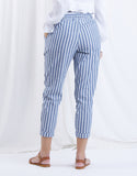 Cool Down Striped Pants