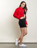 Cool Girl Crop Jacket
