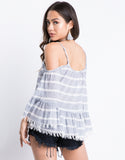 Cool Winds Fringed Top