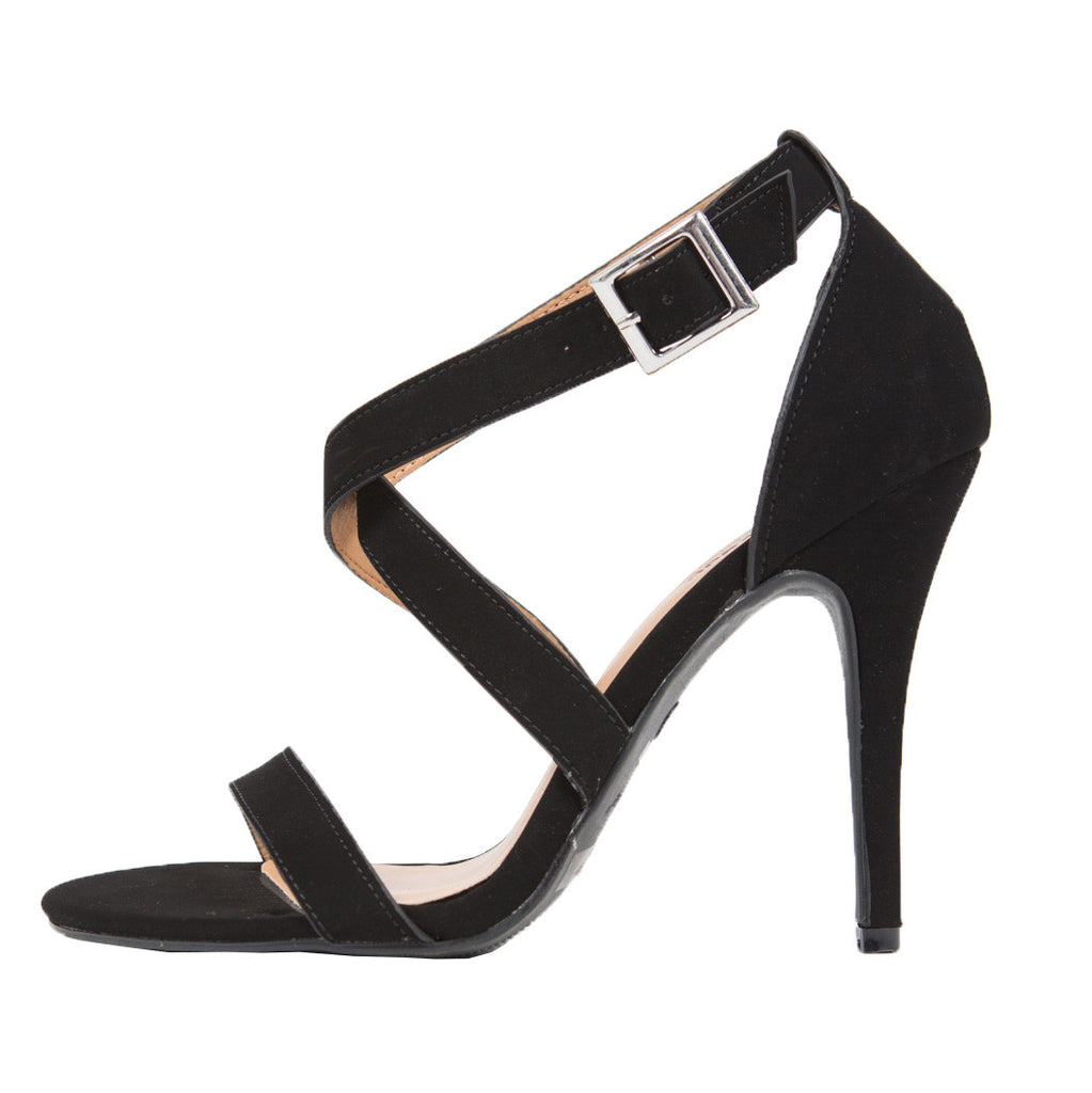 Criss Cross Strappy Heels - 2020AVE