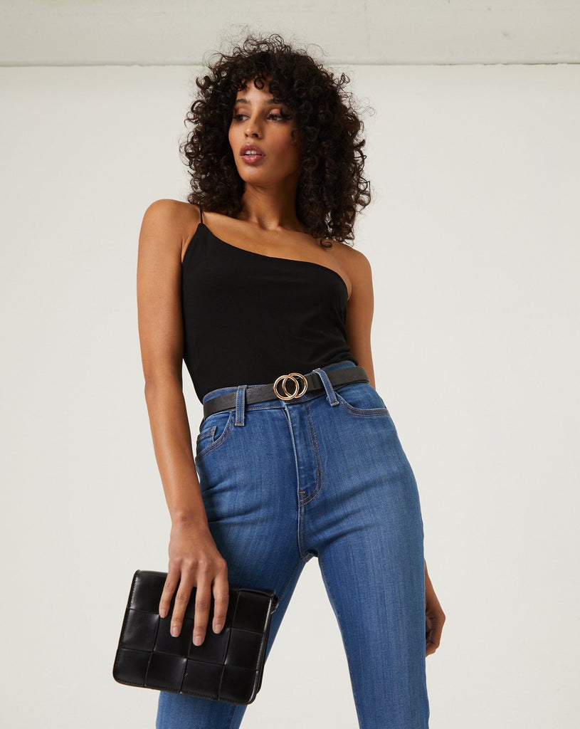 Dani One Shoulder Bodysuit Tops -2020AVE