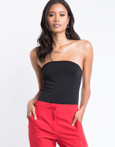 Date Night Strapless Bodysuit