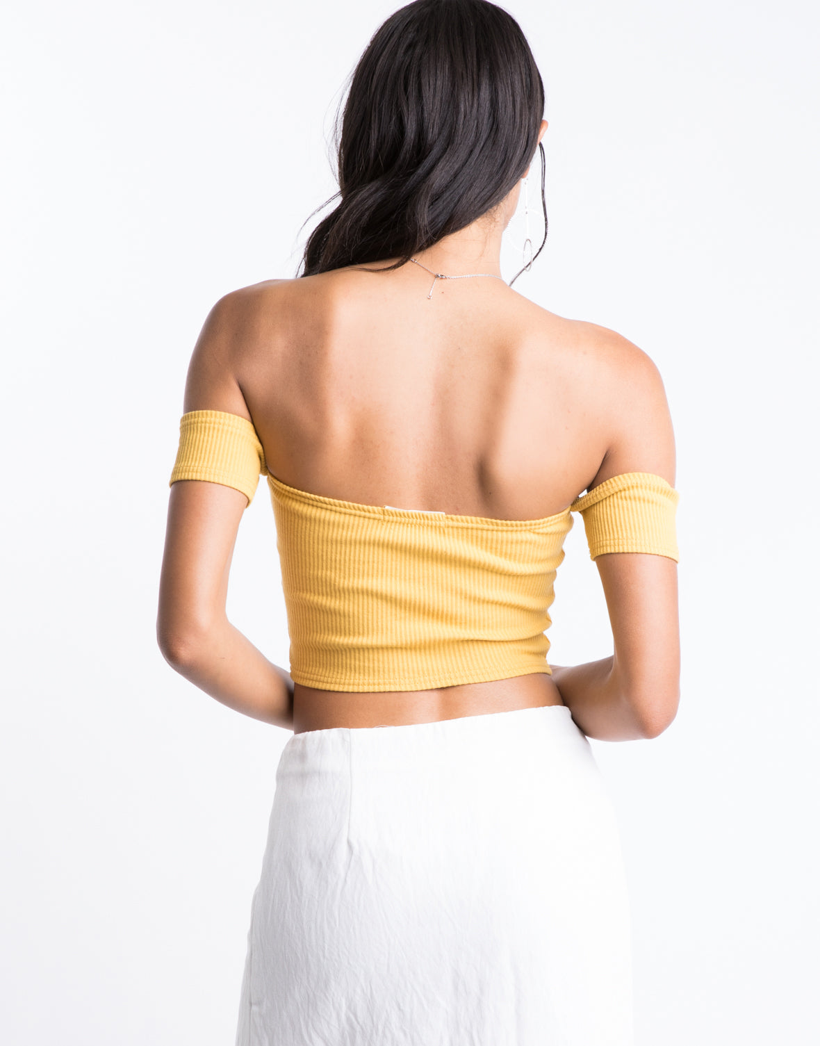 Daydreaming Off The Shoulder Top