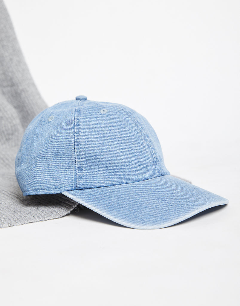 Denim Dad Hat Accessories Light Blue One Size -2020AVE