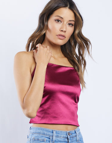 Devon Silk Strappy Tank