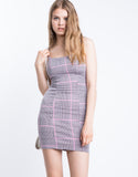 Dionne Plaid Dress