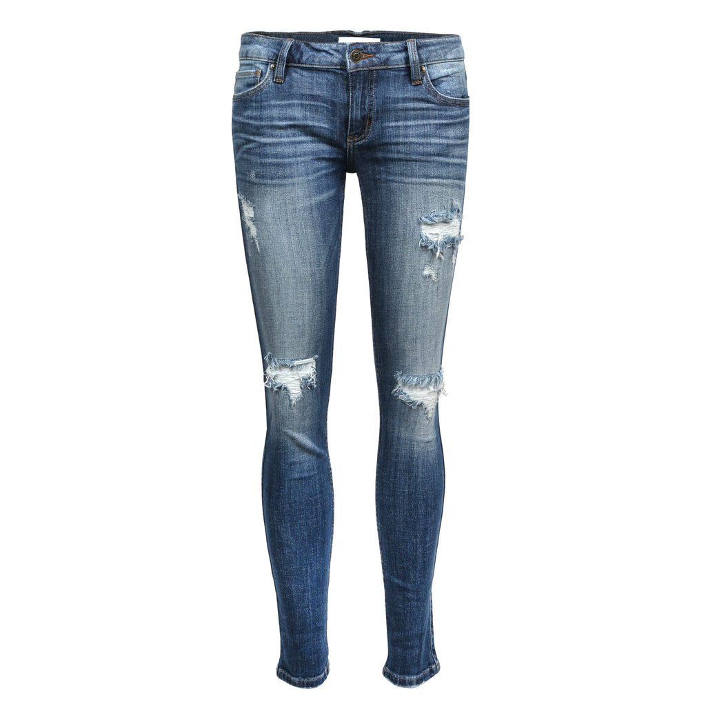 Distressed Classic Skinny Jeans - 2020AVE