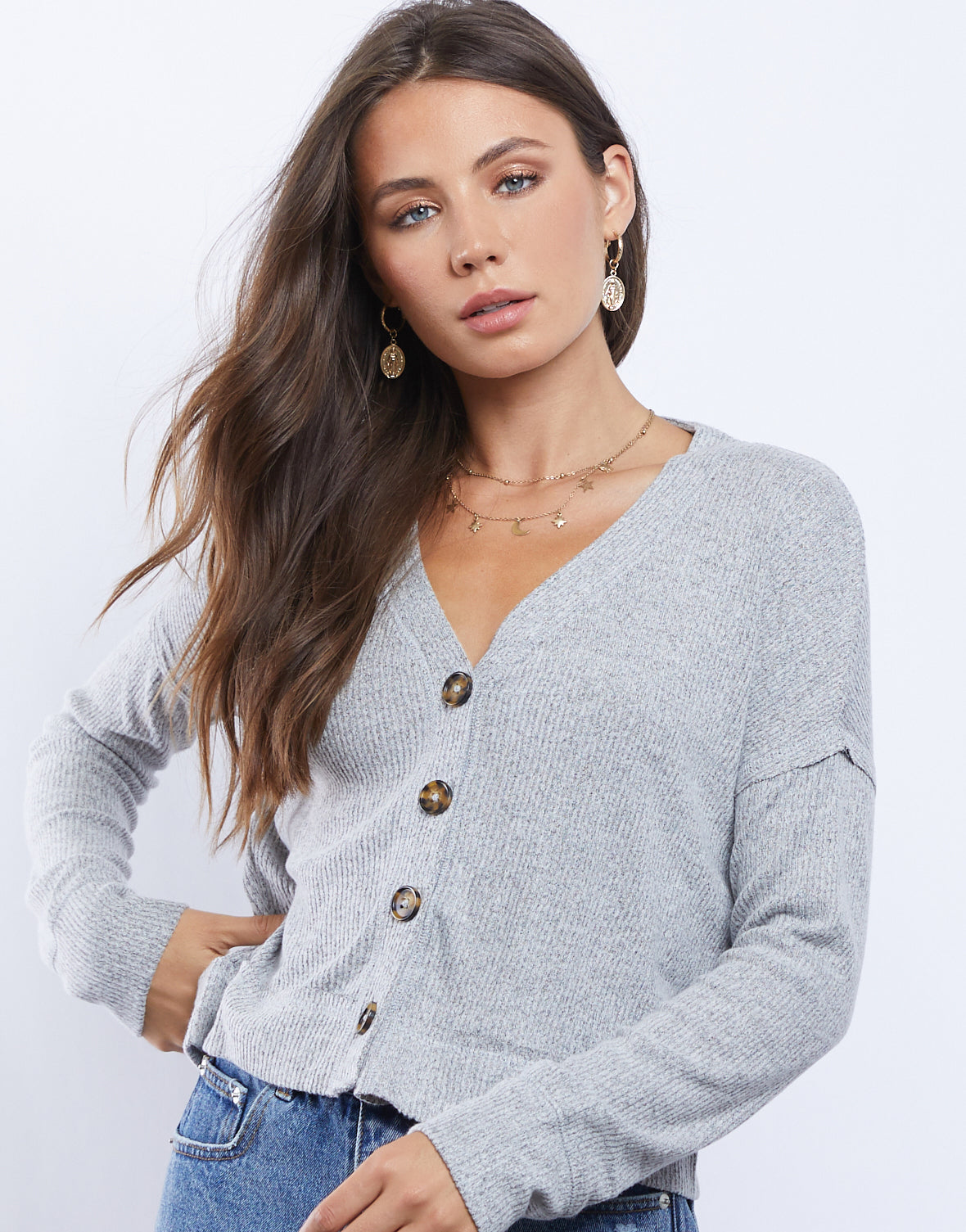 Dixie Lightweight Cardigan Top