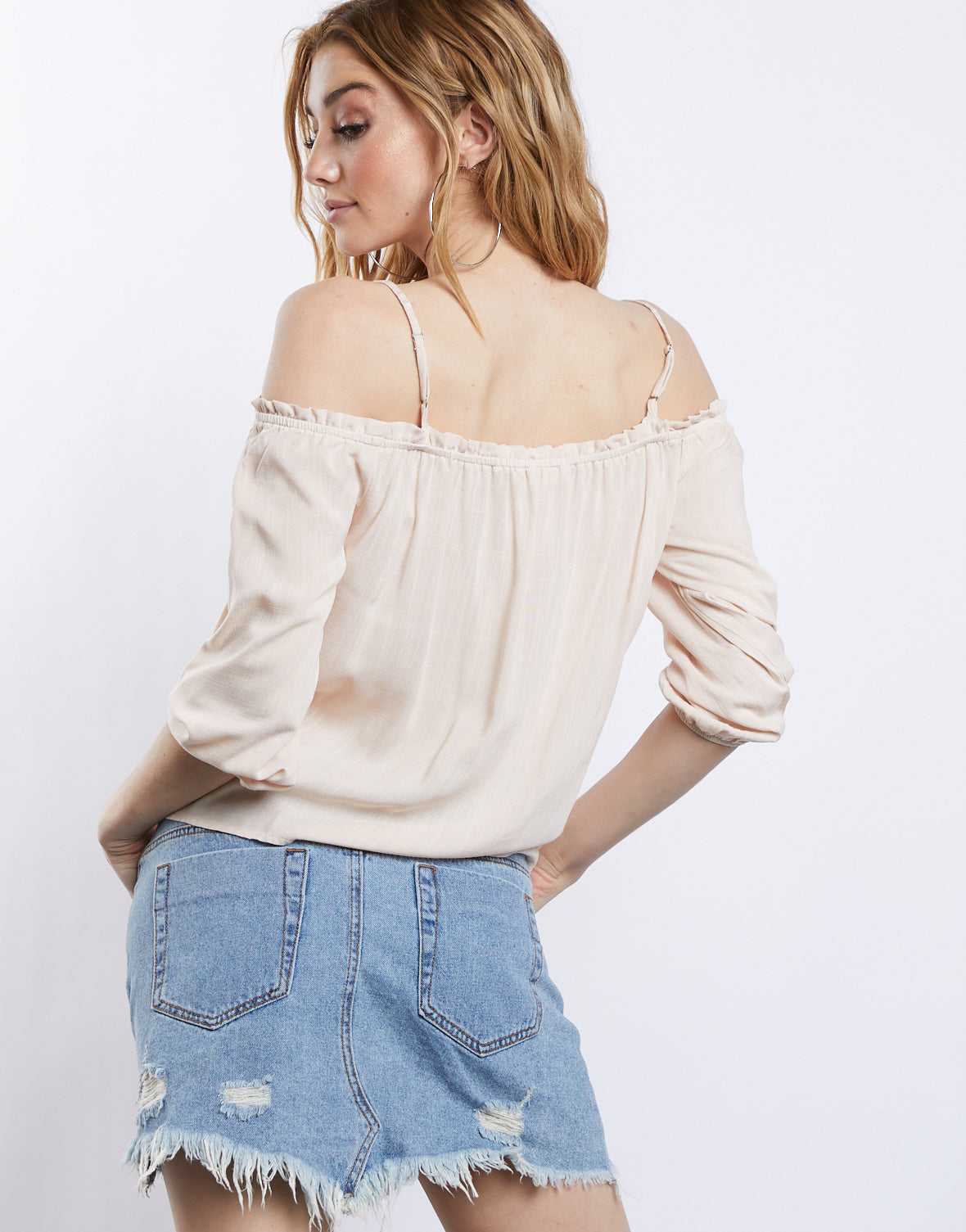 Dream Girl Off Shoulder Blouse