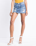Easy Does It Denim Skirt