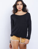 Easy Going Long-Sleeved Top