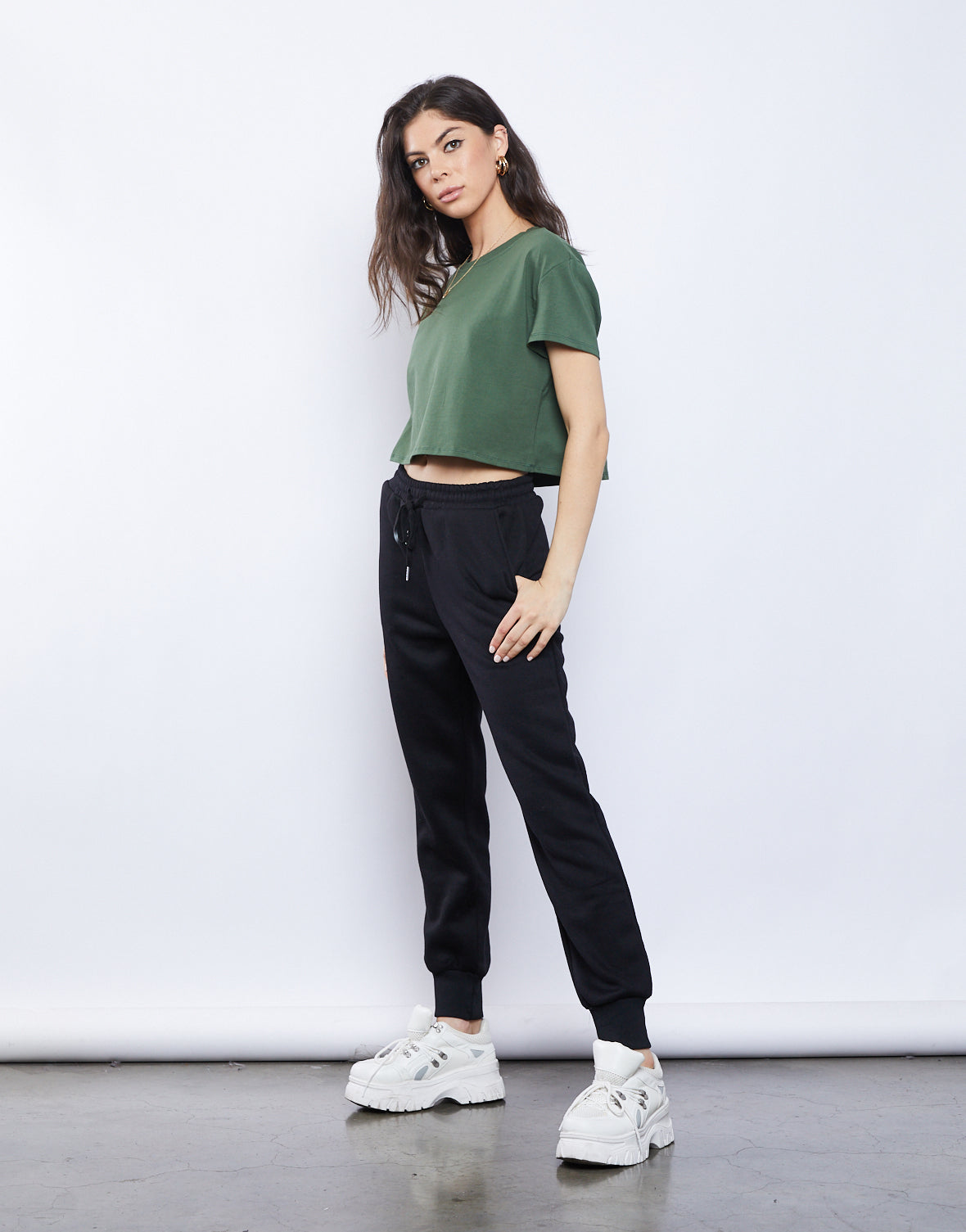 Effortless Crop Tee