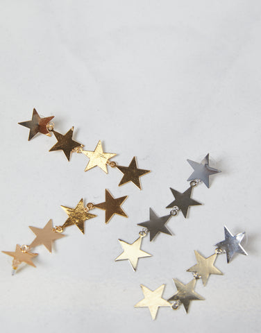 Estrella Dangling Star Earrings