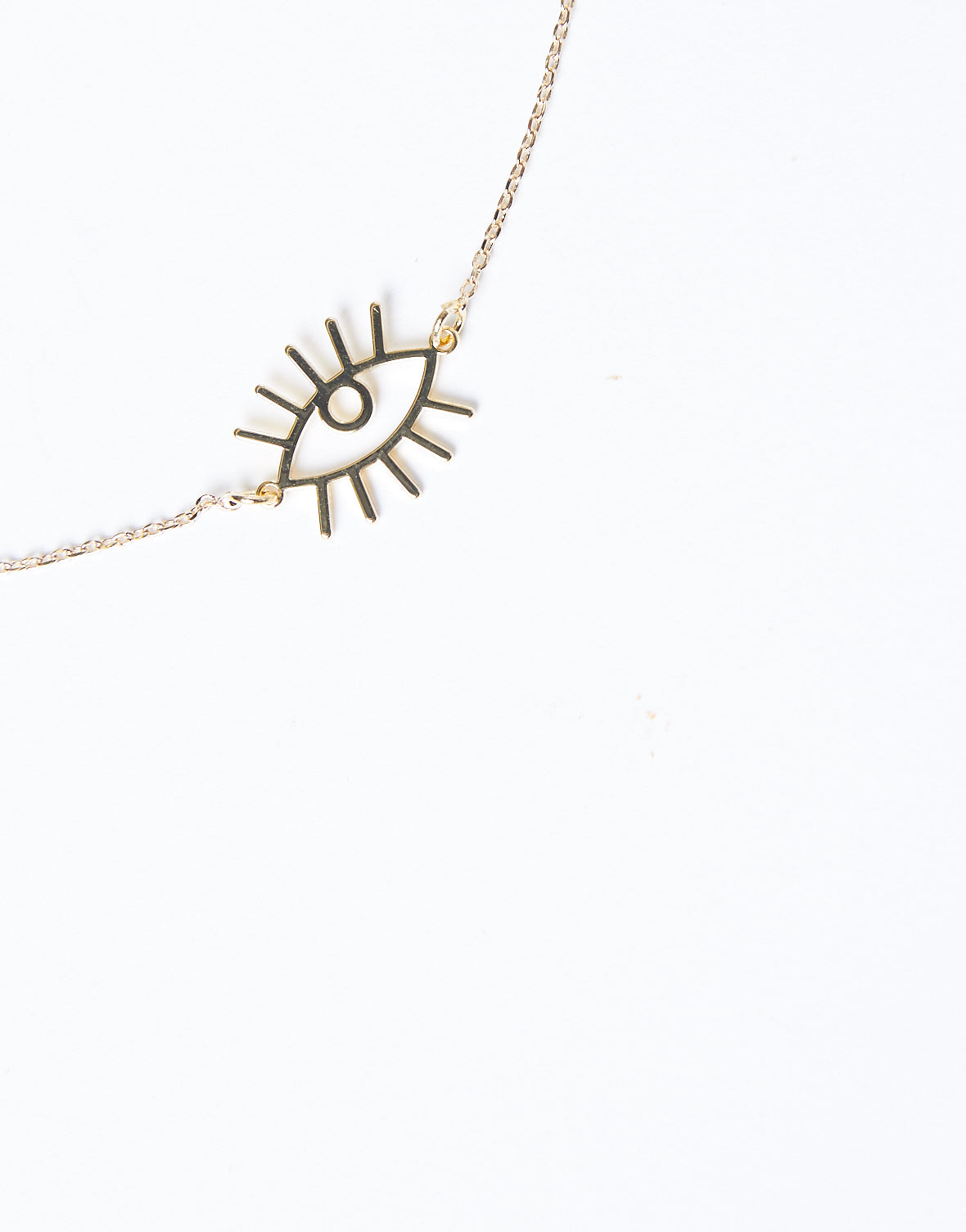 Eyes On You Dainty Chain Necklace