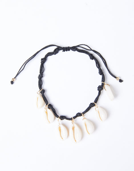 knotted-shell-anklet by 2020ave