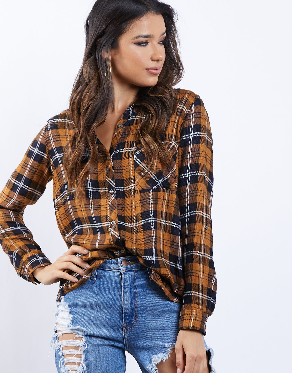Fall Day Plaid Shirt