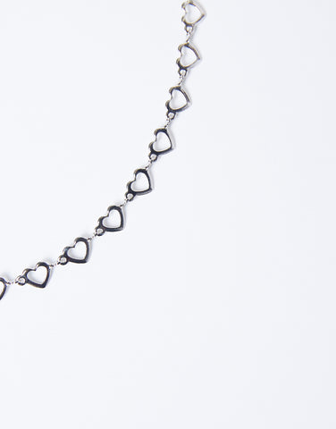 Falling In Love Dainty Heart Necklace