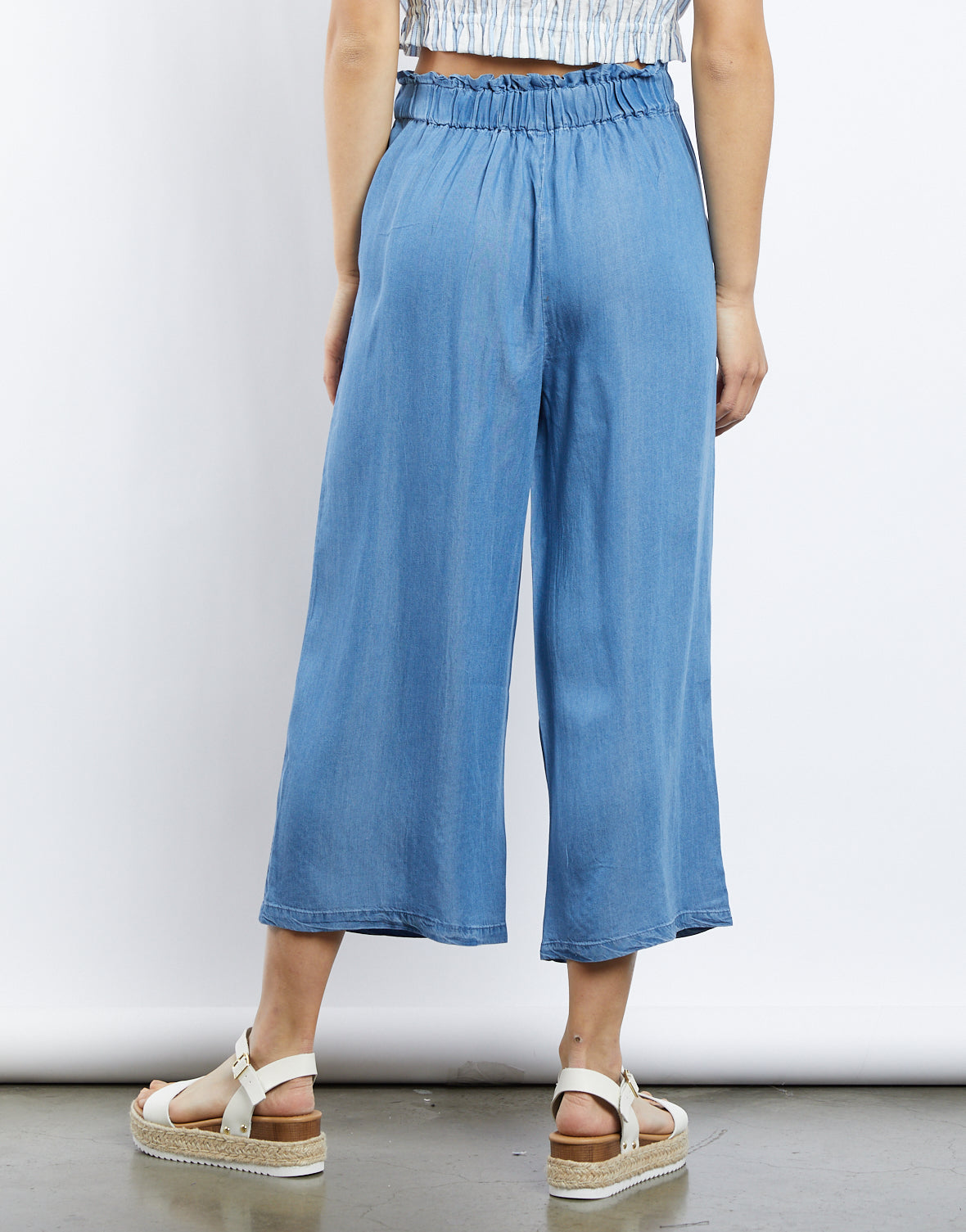 Falling Skies Wide Legs Pants