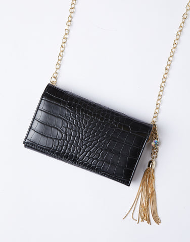 Faux It Crocodile Belt Bag