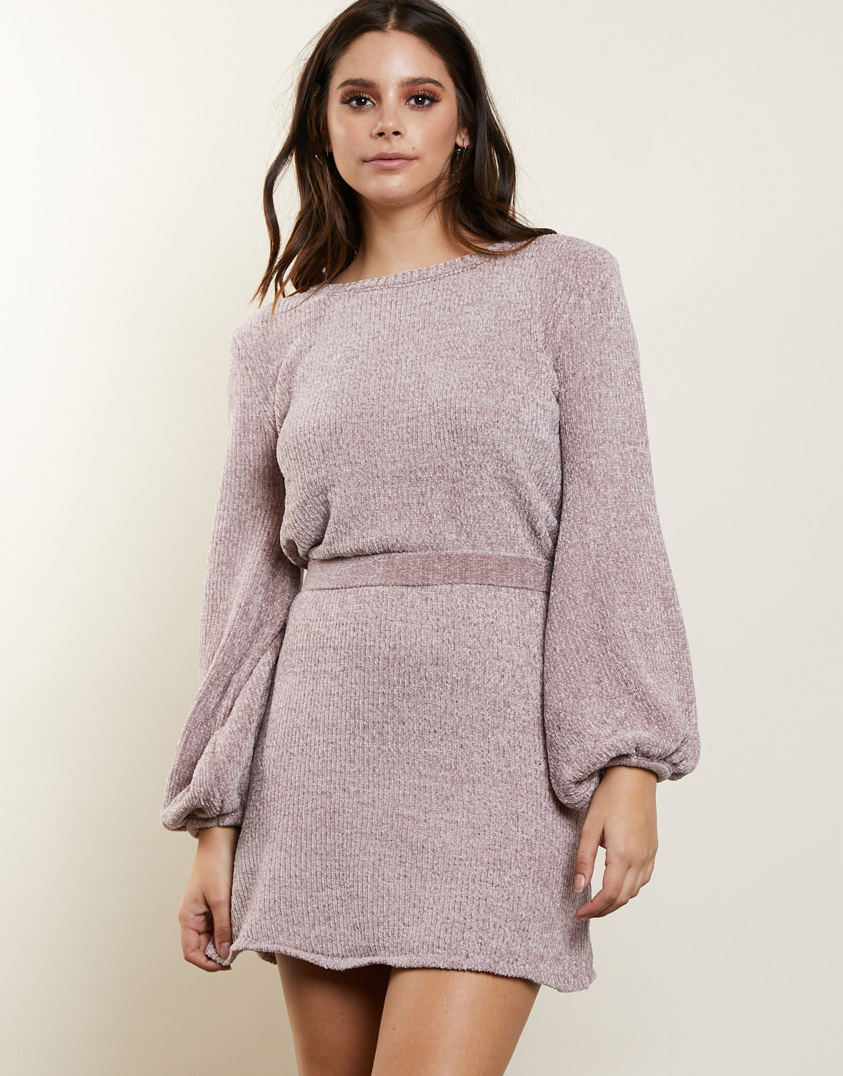 First Impressions Sweater Dress