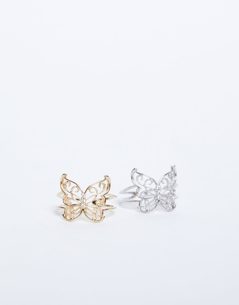 Flutter Away Butterfly Ring Jewelry -2020AVE