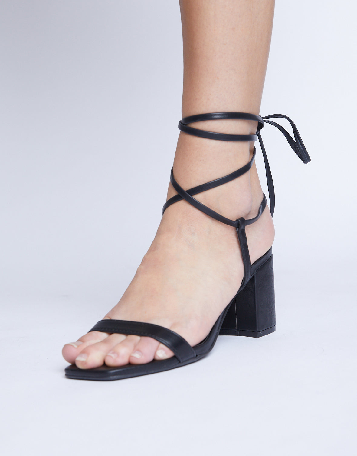 Forever In Your Dreams Lace Up Heel