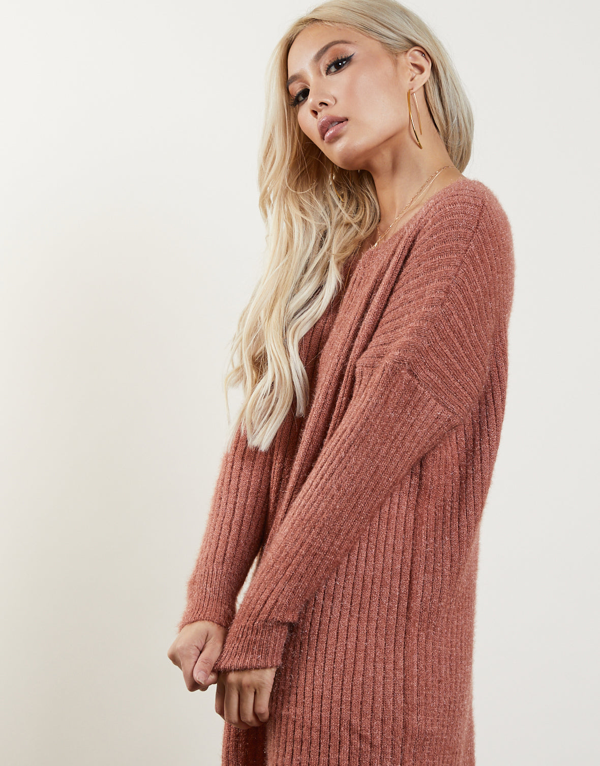Free Fall Sweater Dress