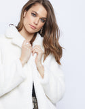 Frosty Faux Fur Jacket