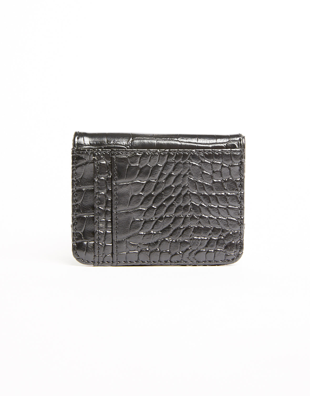 Wild Thing Crocodile Texture Mini Wallet