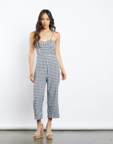 Gingham Season Jumpsuit