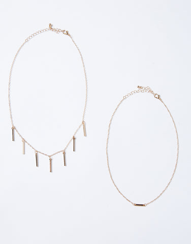 Gold Rush Necklace Set