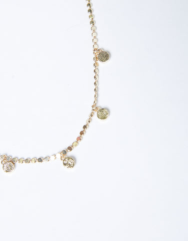 Golden Days Charm Necklace