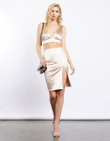 Golden Girl Asymmetric Set