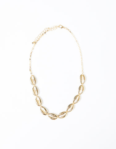 Golden Hour Shell Necklace