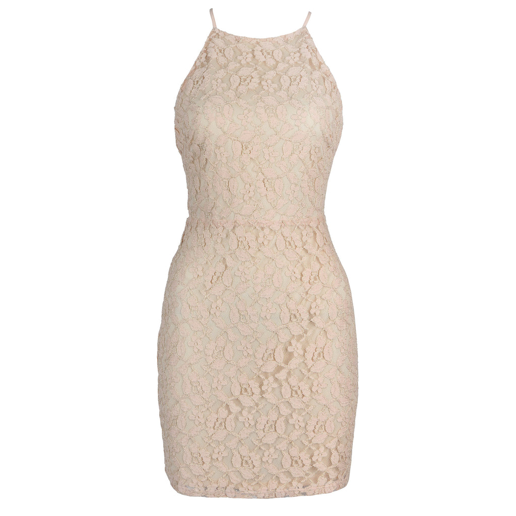 Golden Lacey Dress - 2020AVE