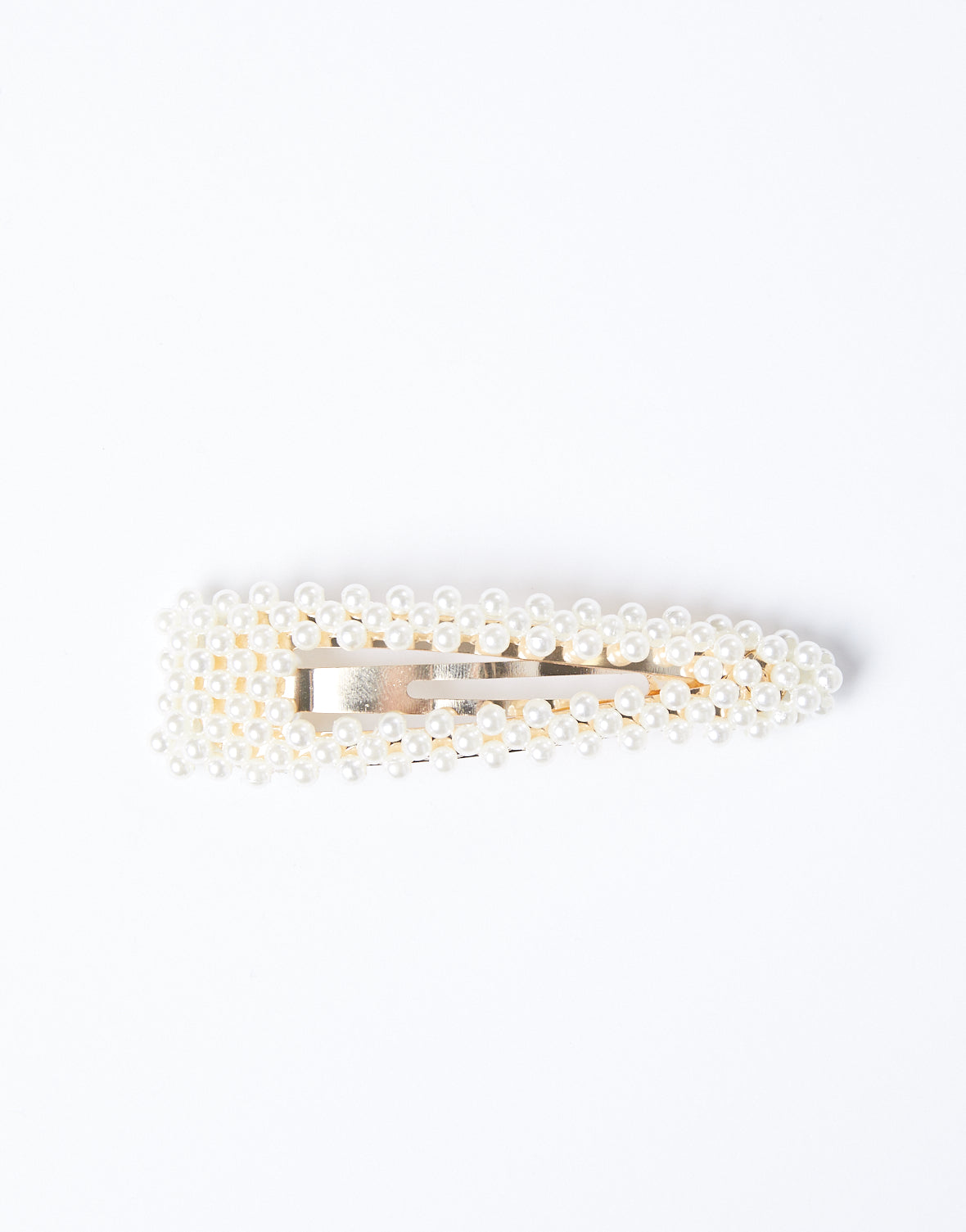 Golden Pearls Barrette