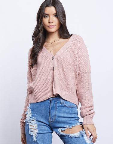 Grayson Cropped Cardigan