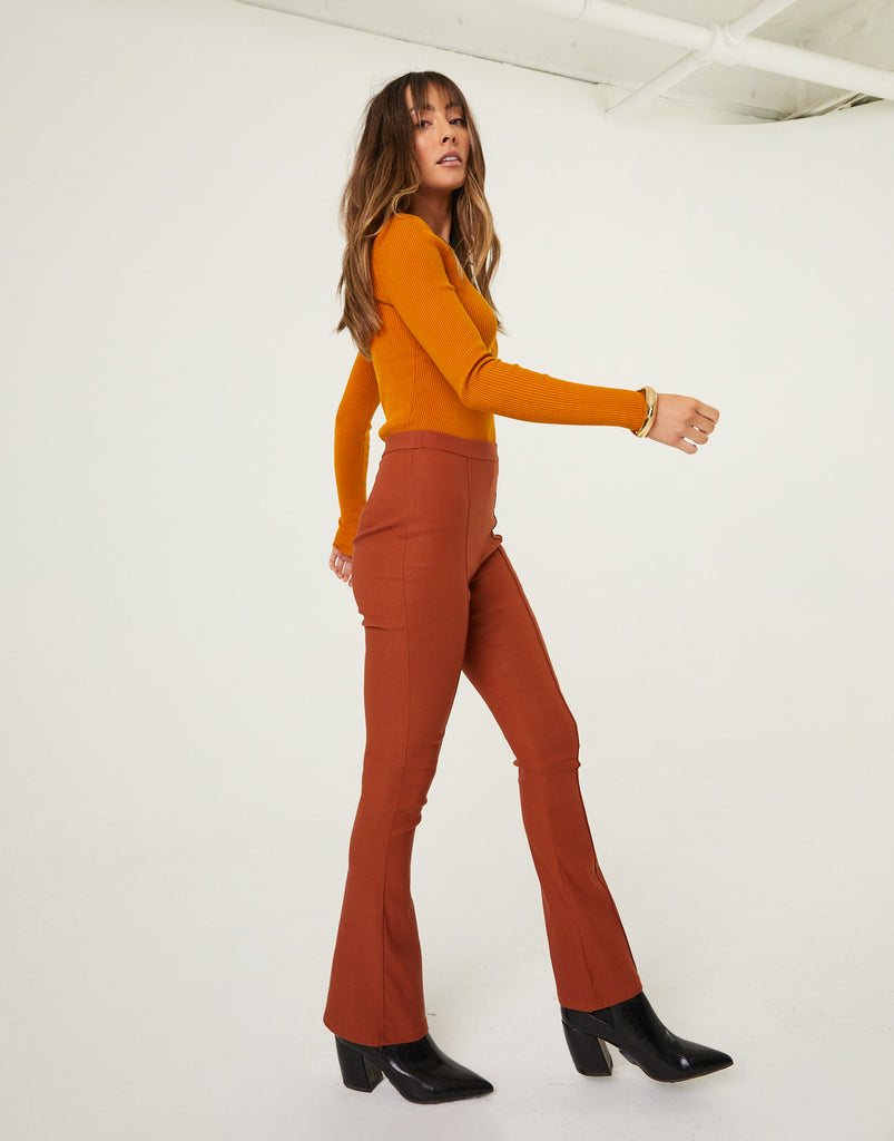 Groovy Retro Flared Pants Bottoms -2020AVE