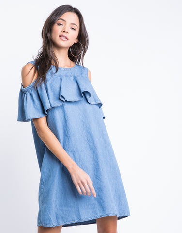 Hallie Denim Dress