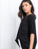 Harper Simple Oversized Tee