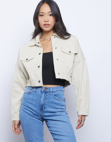 Heidi Sherpa Lined Jacket