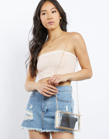Hello Summer Bandeau Top