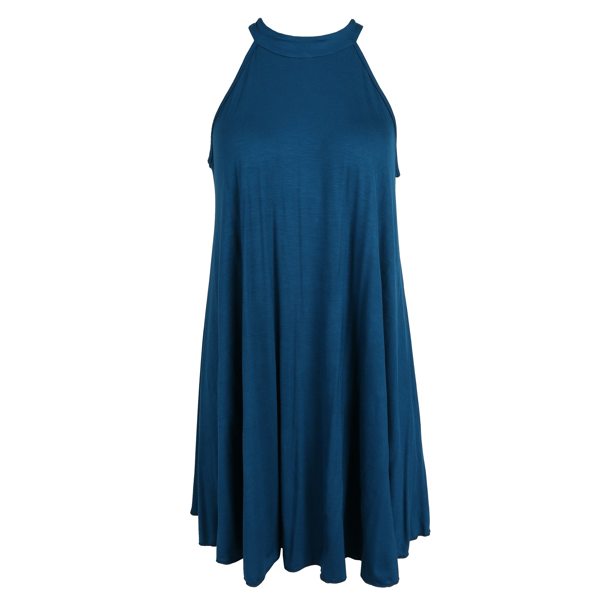 High Neck Trapeze Dress - 2020AVE