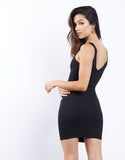 Hold Tight Zip Front Dress
