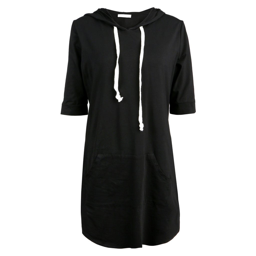 Hooded Tee Dress - 2020AVE