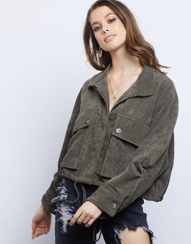 Hunter Oversized Corduroy Jacket
