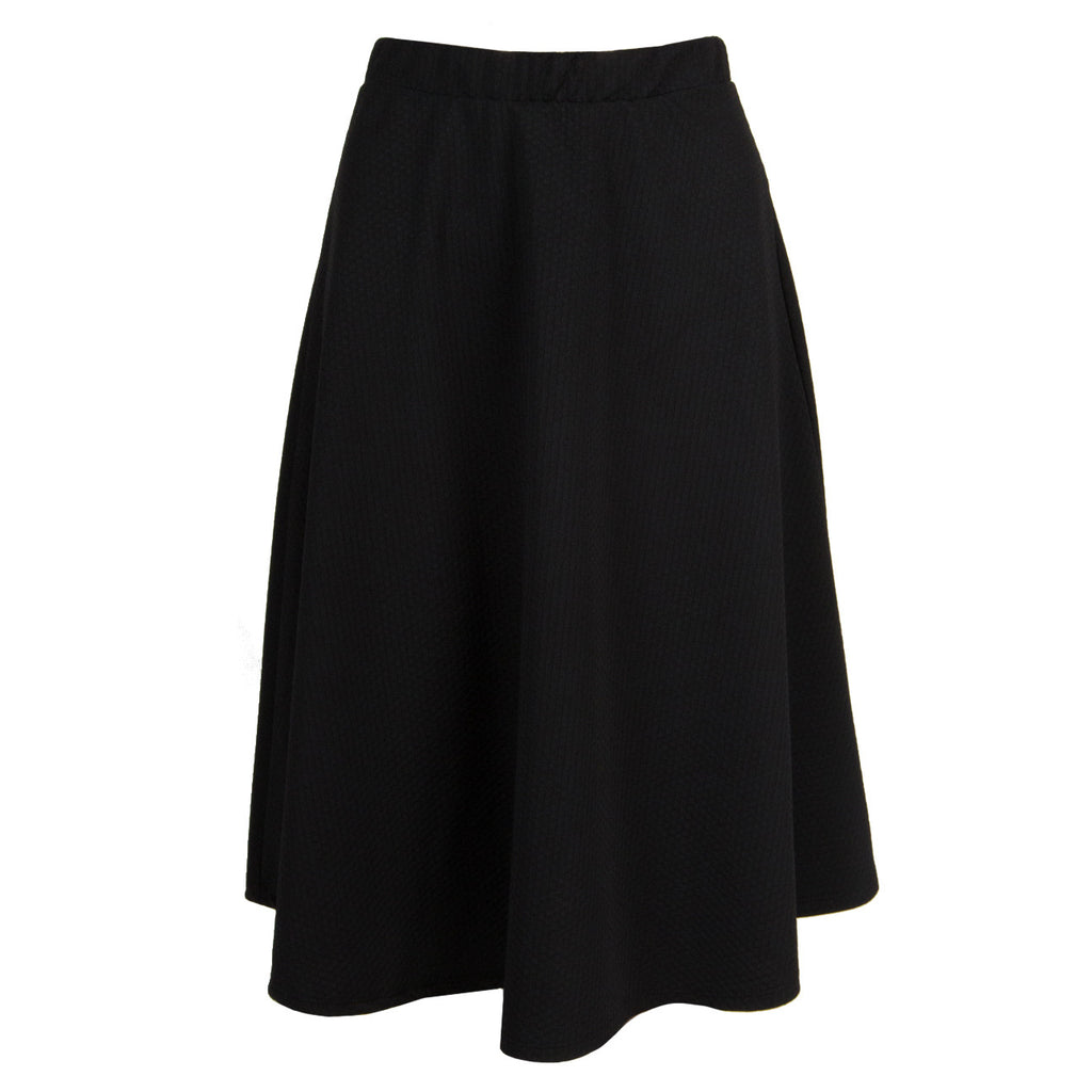 High Waisted Skater Skirt - 2020AVE