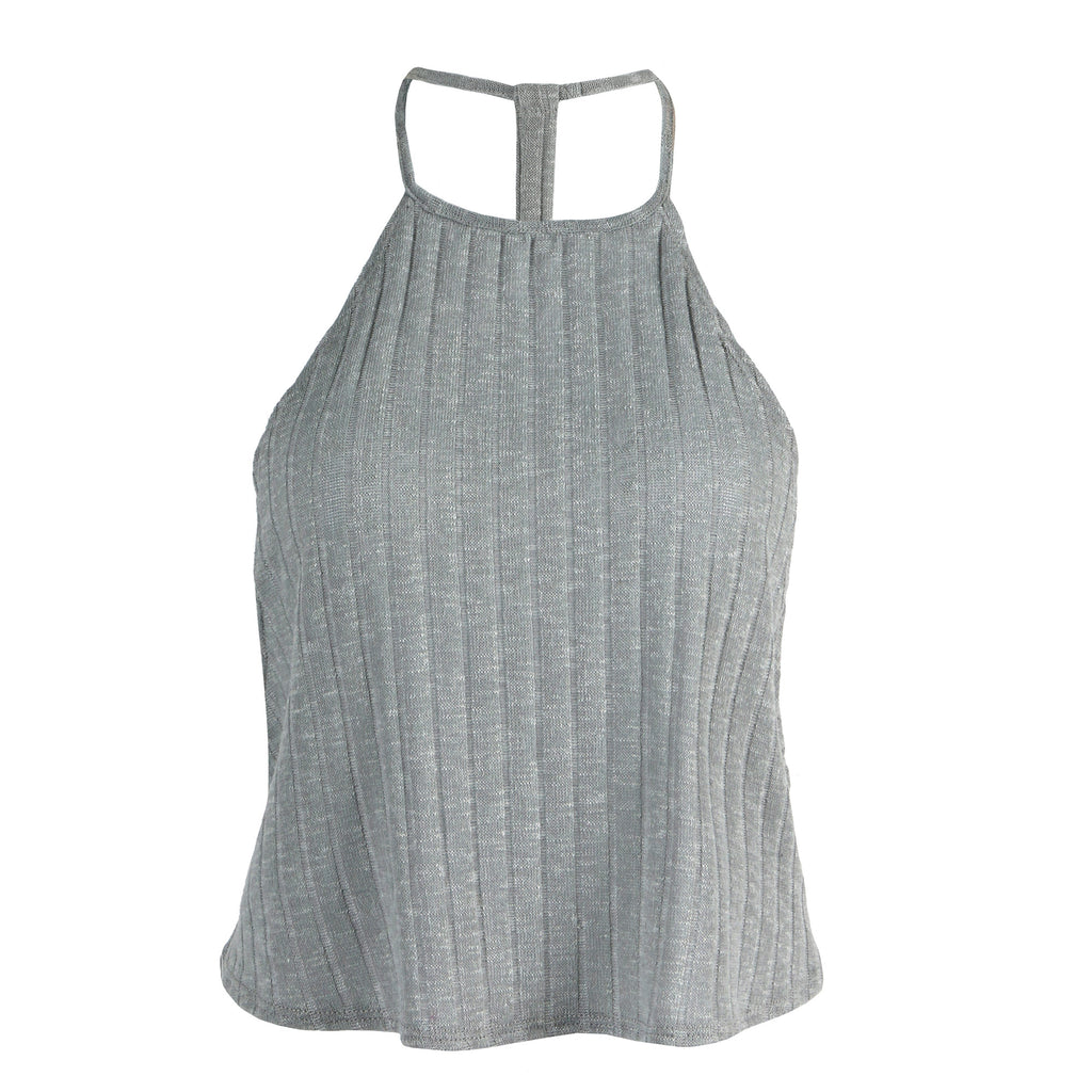 Soft Ribbed Crop Top - 2020AVE